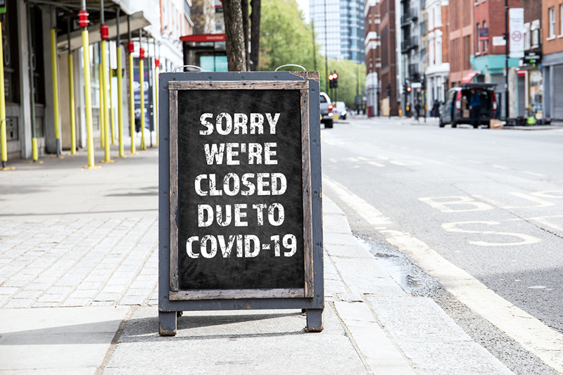 closed business